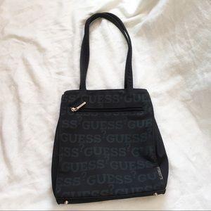 [GUESS] Monogram Shoulder Bag w Magnetic Closure